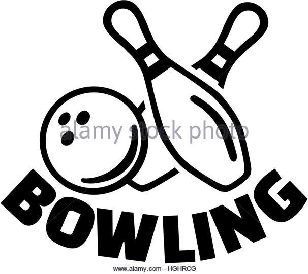bowling clipart symbol