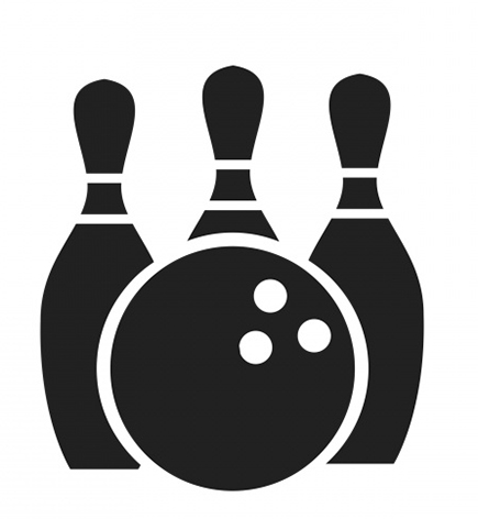 Icon. Bowling clipart transparent background