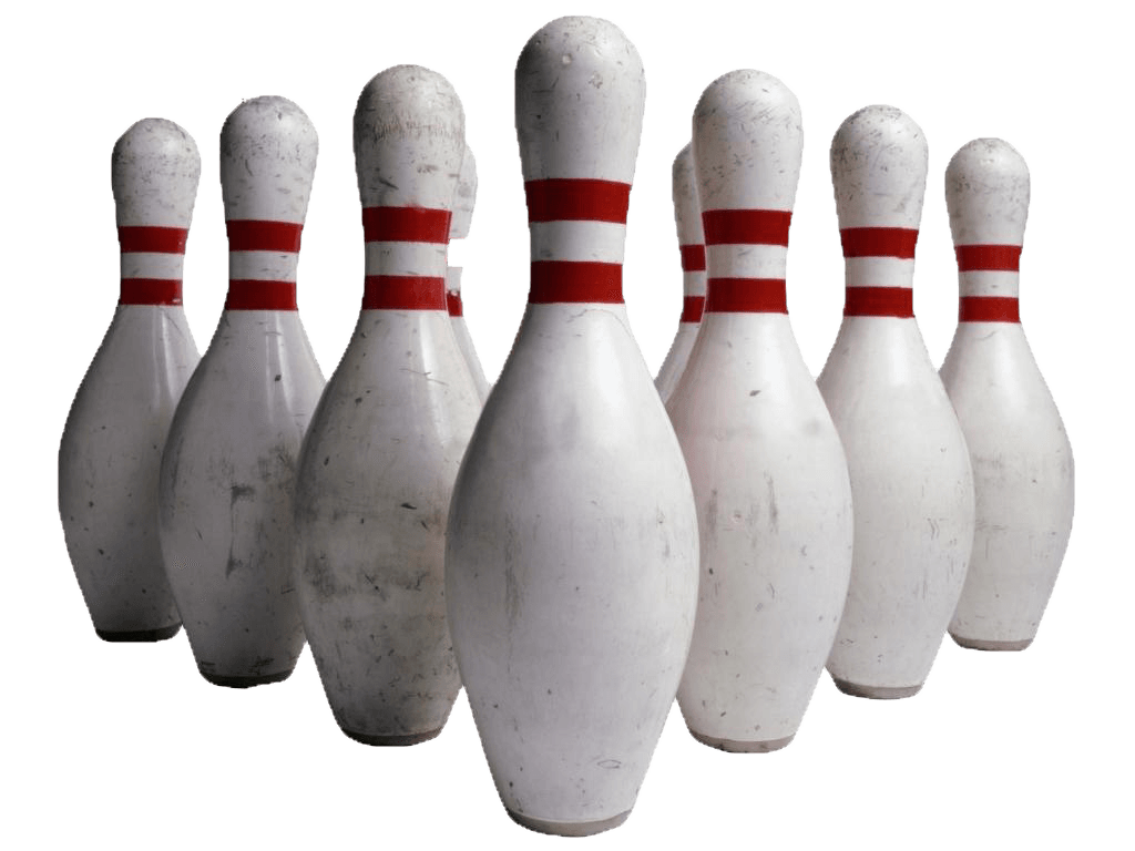 Bowling clipart transparent background. Pins png stickpng