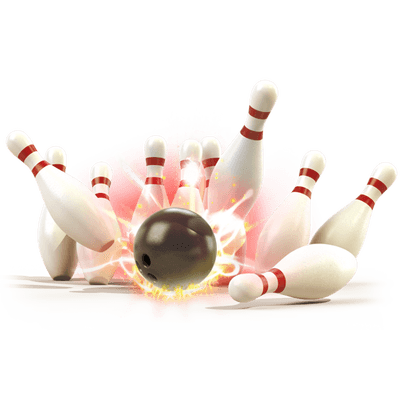 Bowling clipart transparent background. Pin png stickpng strike
