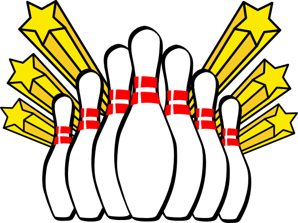 Clip art free new. Bowling clipart vector