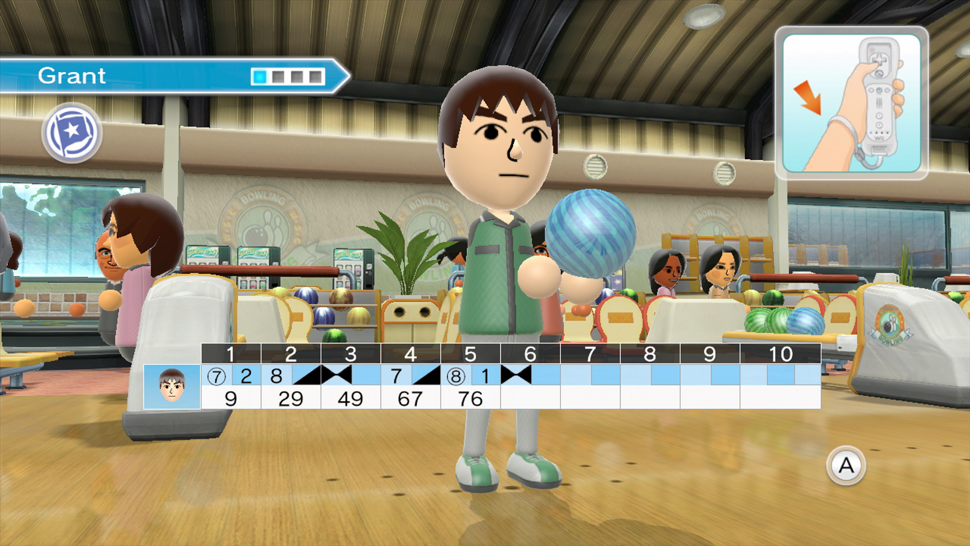Bowling clipart wii bowling. Sports club review nintendo