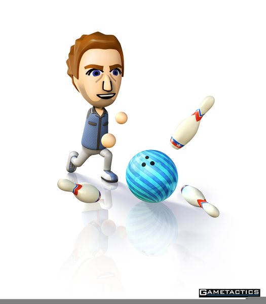 Bowling clipart wii bowling. Free images at clker