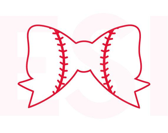 Bows clipart baseball.  best svg and