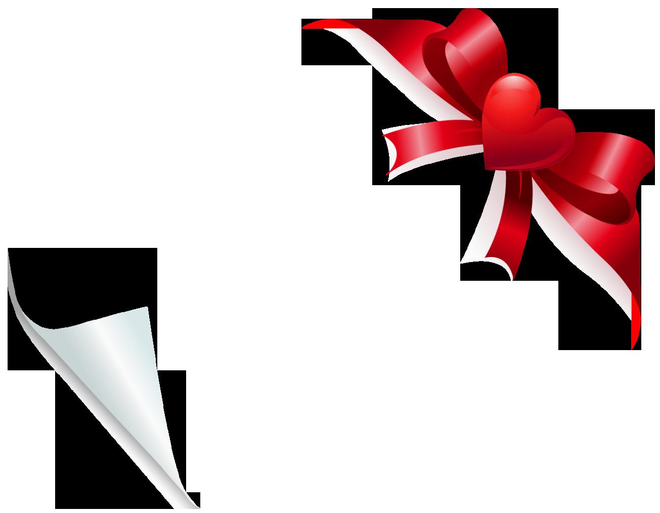 Bows clipart birthday. Valentine heart bow decoration