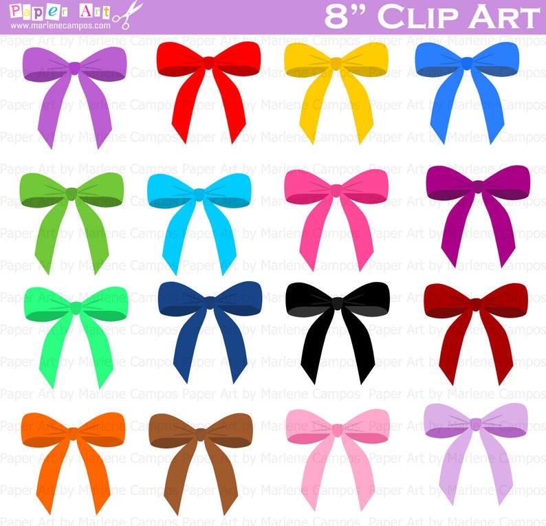 Clip art digital party. Bows clipart birthday