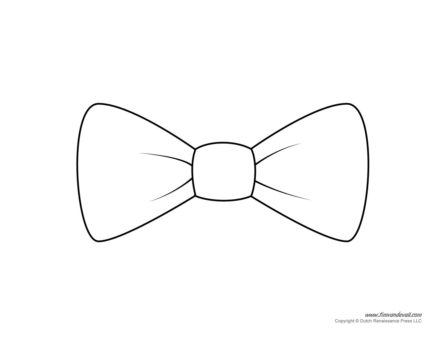 Bows clipart bow tie. Paper template printable baby
