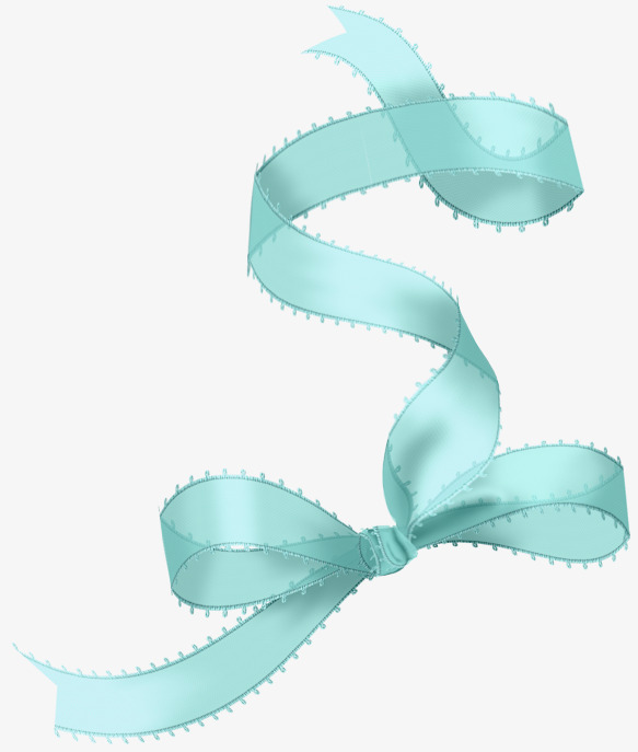 Mint green ribbon with. Bows clipart bowknot