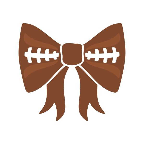 Bows clipart football. Pin on sports and
