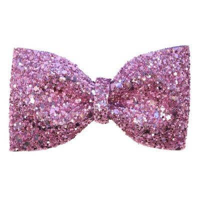 Pink hair sephorahellokitty bows. Clipart bow glitter