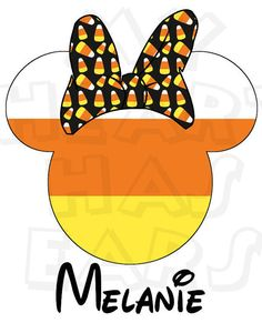 Disney minnie or mickey. Bows clipart halloween