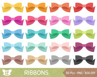 Bows clipart kawaii. Cute bow clip art