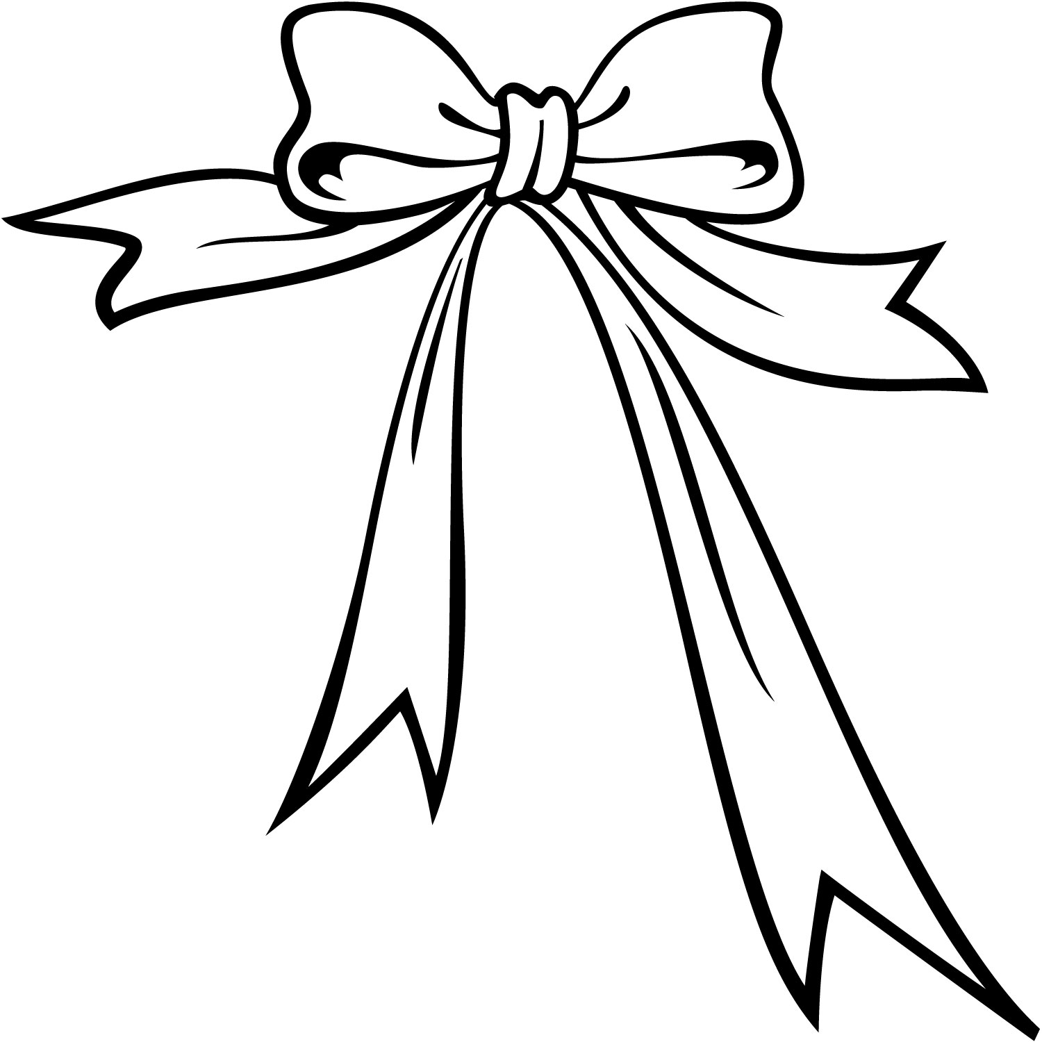 Bow at getdrawings com. Bows clipart line drawing
