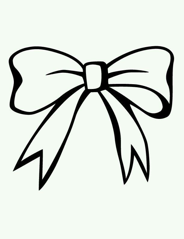 Pin by jenisha parekh. Bows clipart line drawing