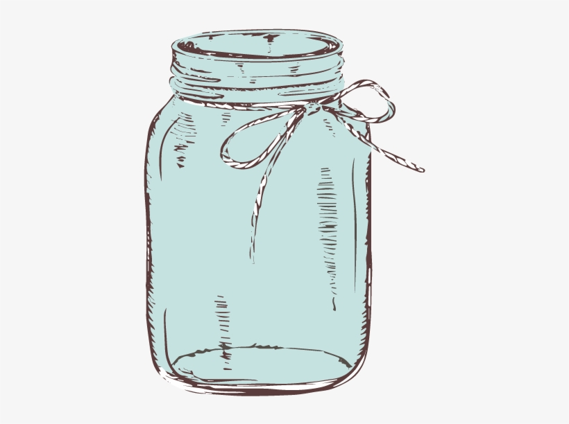 Graphic library download with. Bows clipart mason jar