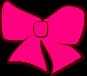 Bow clip art at. Bows clipart pink