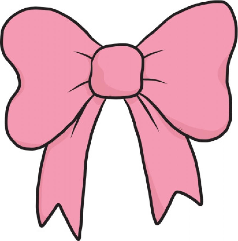 Bows clipart pink. Hair ribbon bow clip