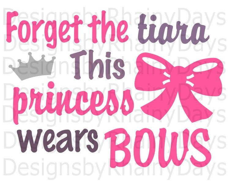 Bows clipart princess. Buy get free forget