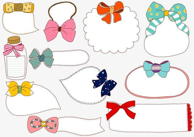 Bow border wind cute. Bows clipart princess