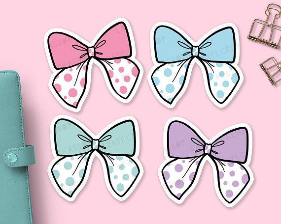 Bow die cuts cute. Bows clipart printable
