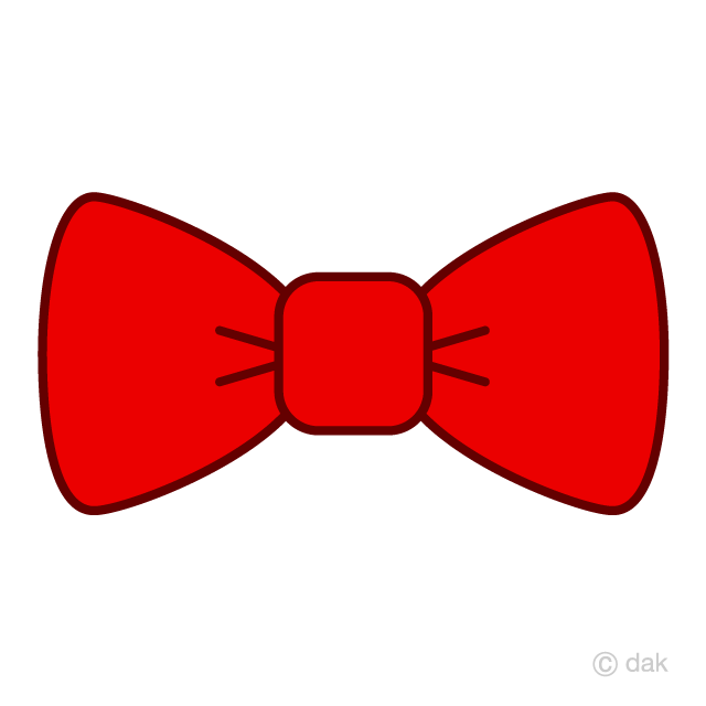 Bow tie free picture. Bows clipart red