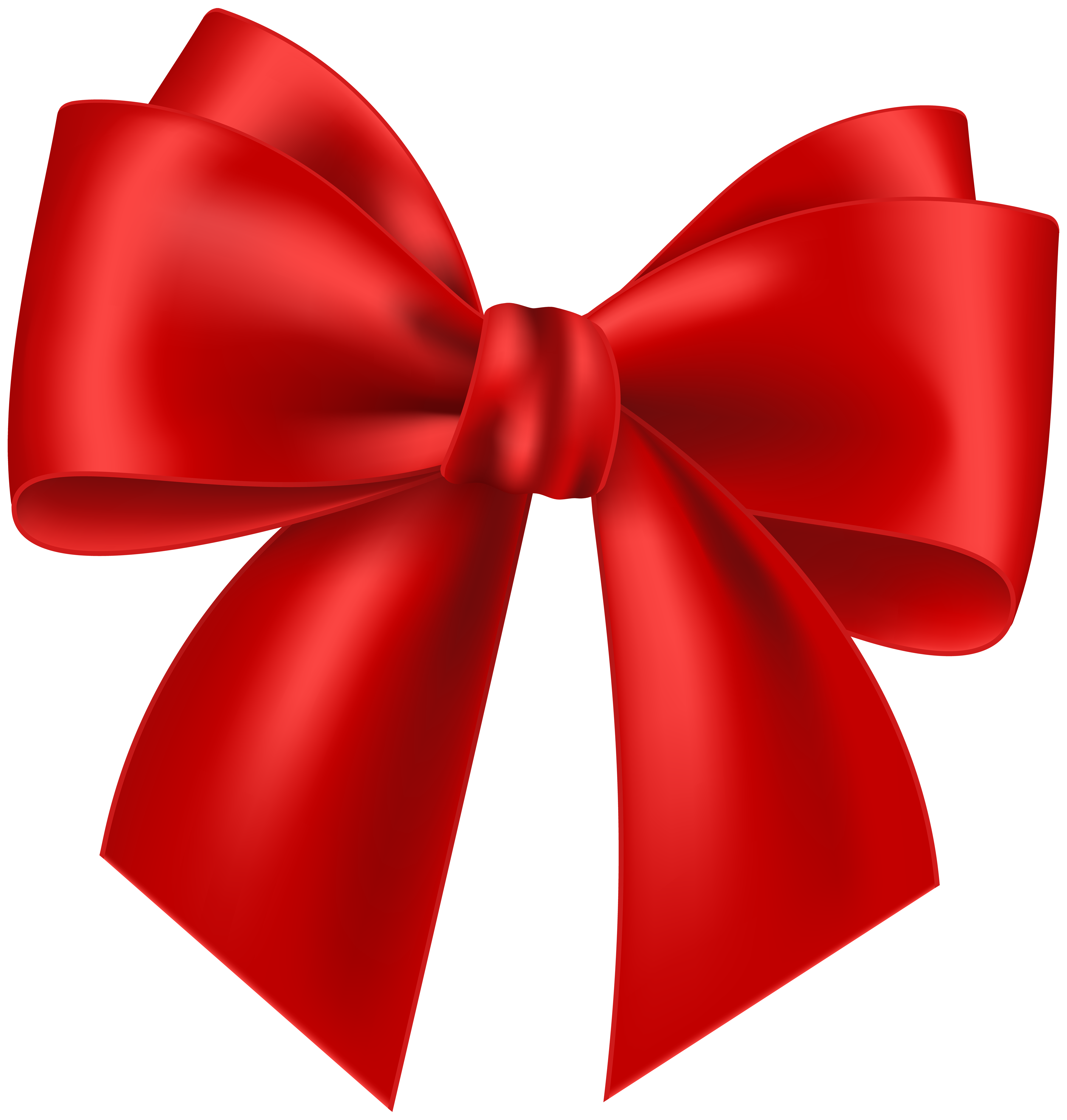 Transparent clip art image. Clipart bow red