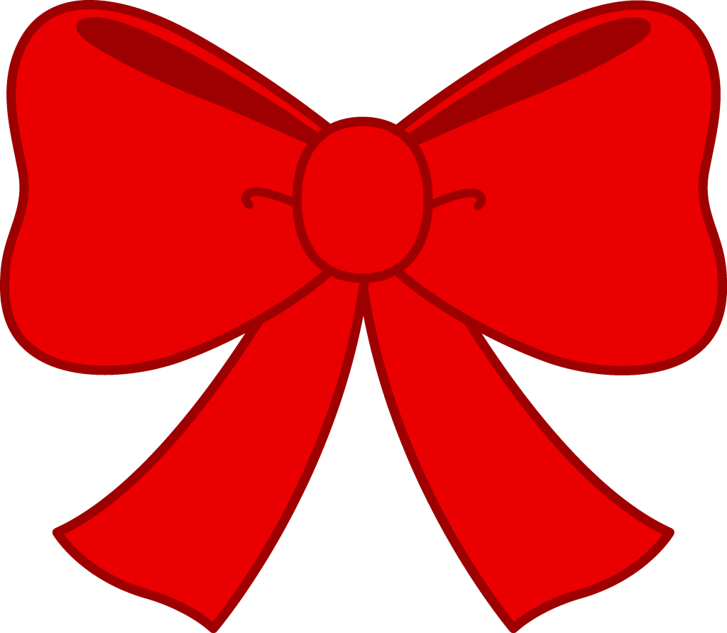 Bow buttons gift boxes. Bows clipart vector