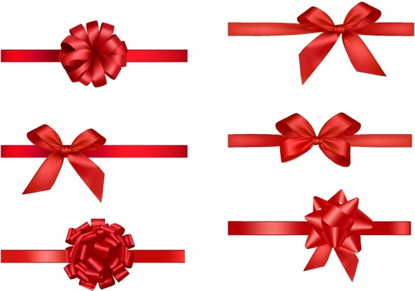 Bows clipart vector. Bow free download for