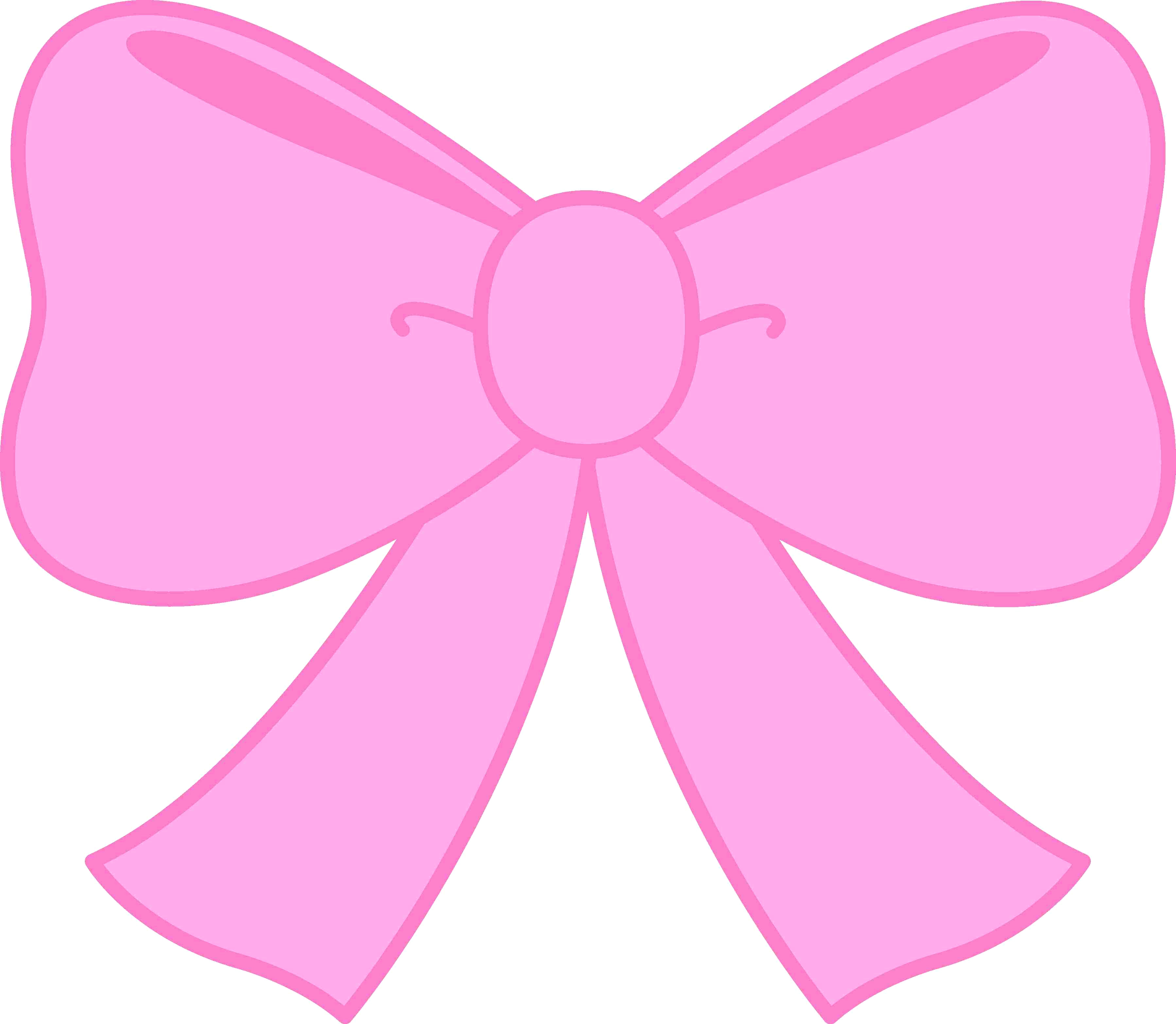 Bows clipart. Hair bow rescuedesk me