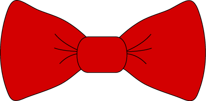 Tie images red bow. Bows clipart clip art