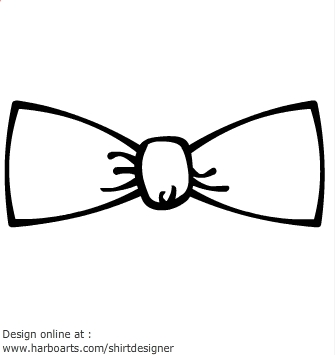 Free bow tie download. Bowtie clipart black and white