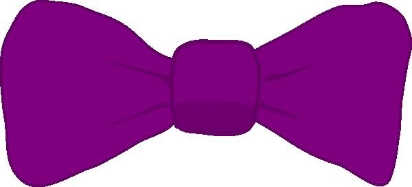 Bowtie clipart bow tie. Purple clip art at