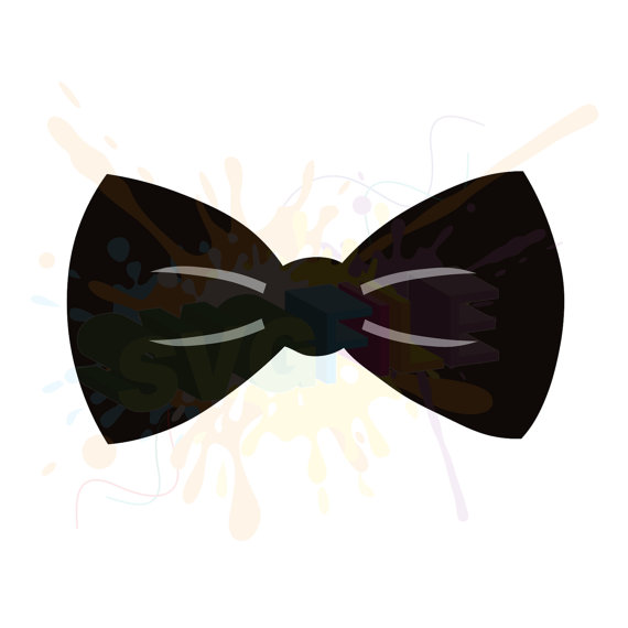 Svg files for cutting. Bowtie clipart bow tie