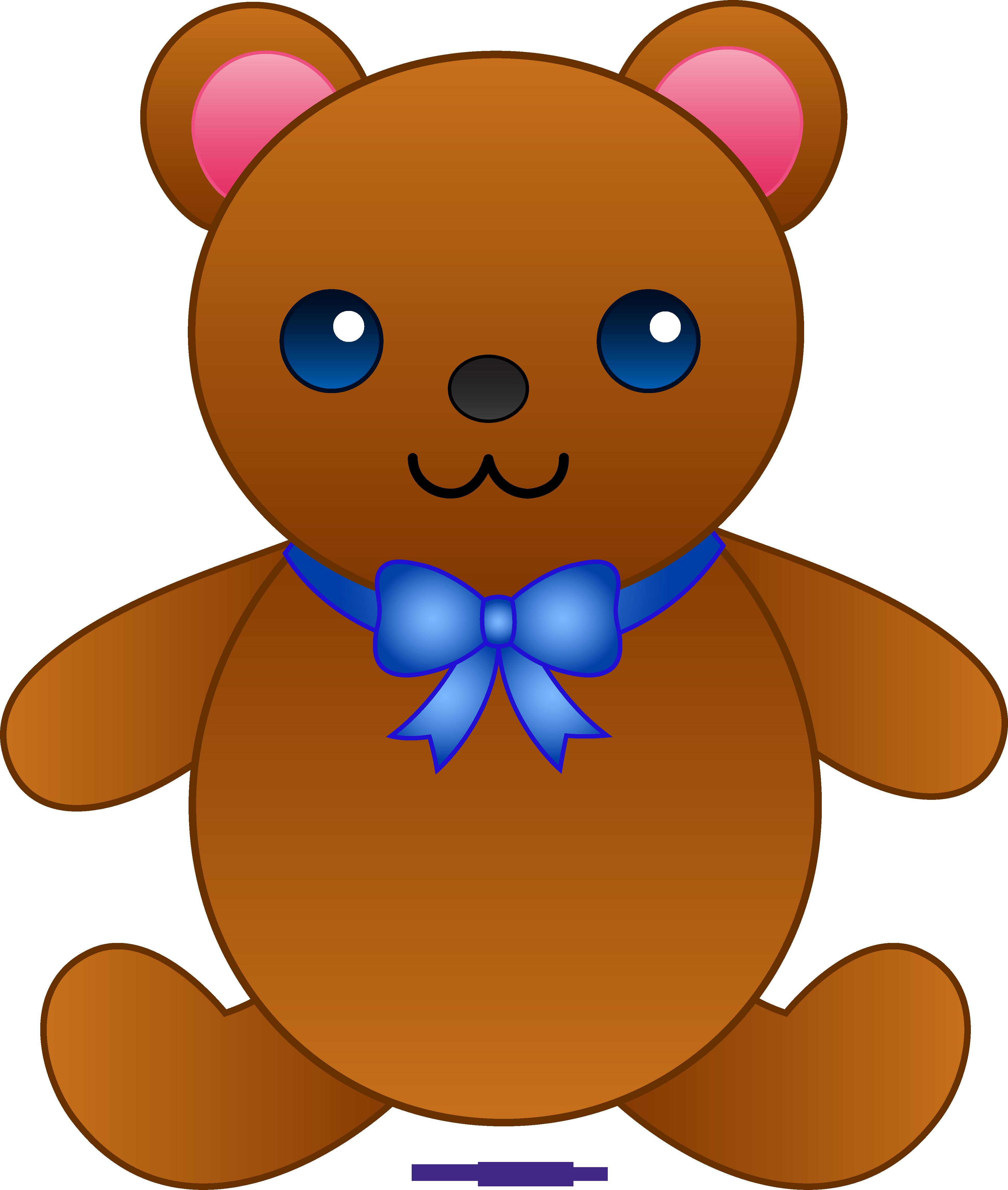 Cute teddy bear with. Mailbox clipart stuffed