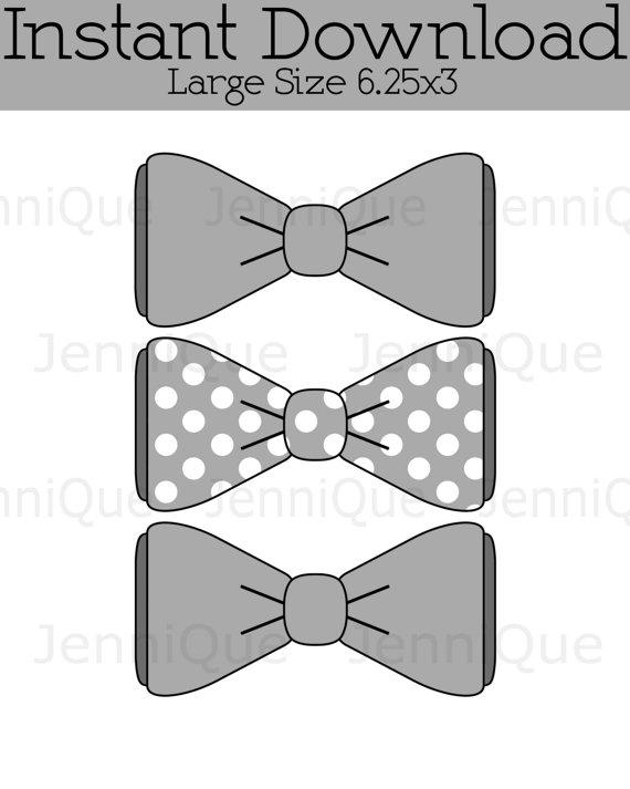 Bowtie clipart grey. Printable bow tie cut