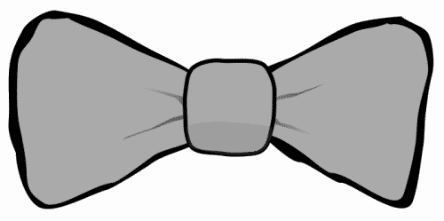Green clothes odds and. Bowtie clipart grey