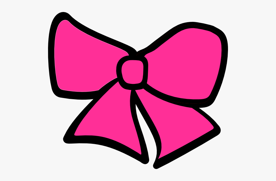Tie pink bows free. Bowtie clipart hair bow