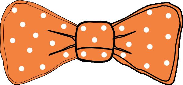 Bow clipart kid. Tie orange clip art