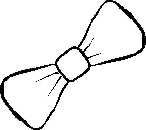 Clip art at clker. White clipart bowtie