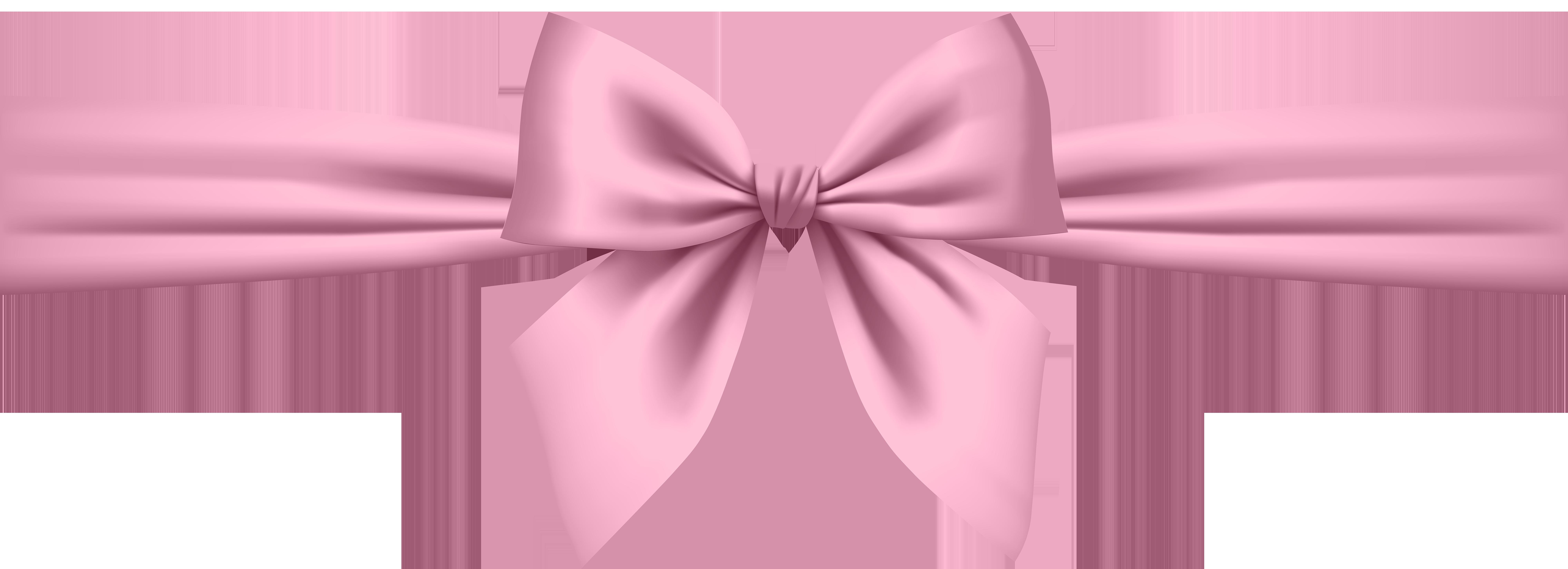 Soft transparent png clip. Clipart bow pink