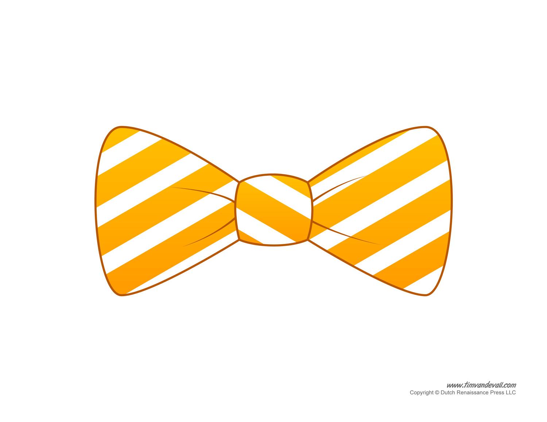 Bows clipart necktie. Paper bow tie templates