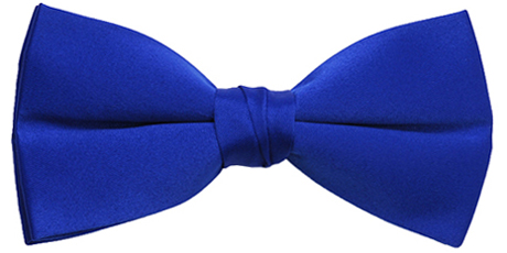 Bowtie royal blue