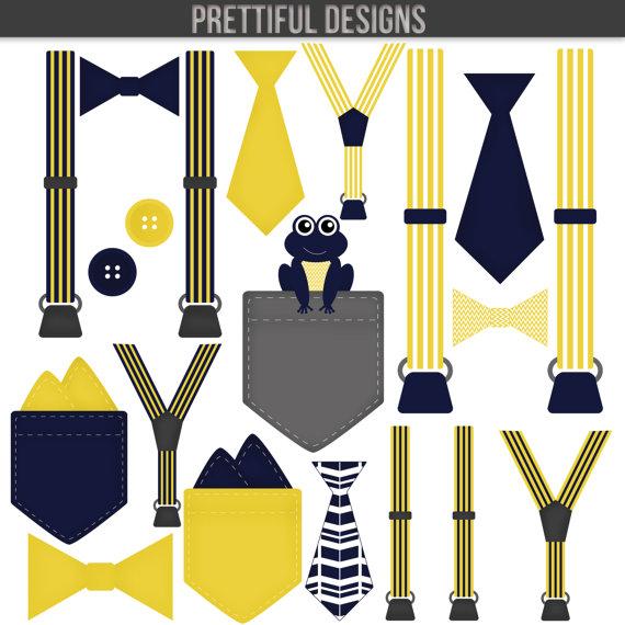 Boy accessories clip art. Onesie clipart suspender