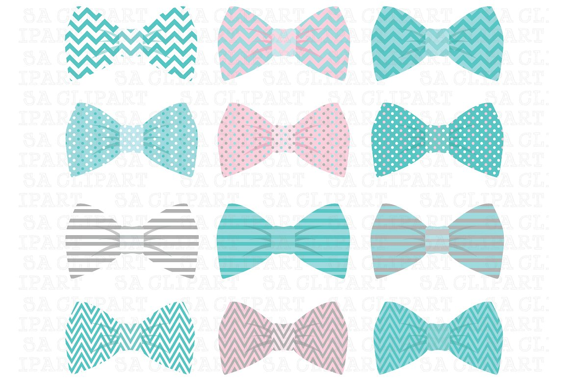 Bowtie clipart teal. Bow tie illustrations creative