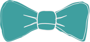 Bowtie clipart teal. Bow tie clip art