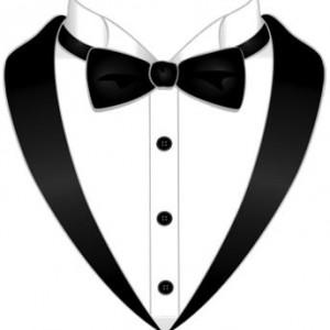 Hire black tie productions. Bowtie clipart wedding