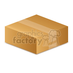 Box clipart. Small royalty free