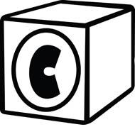 Black and white b. Box clipart alphabet
