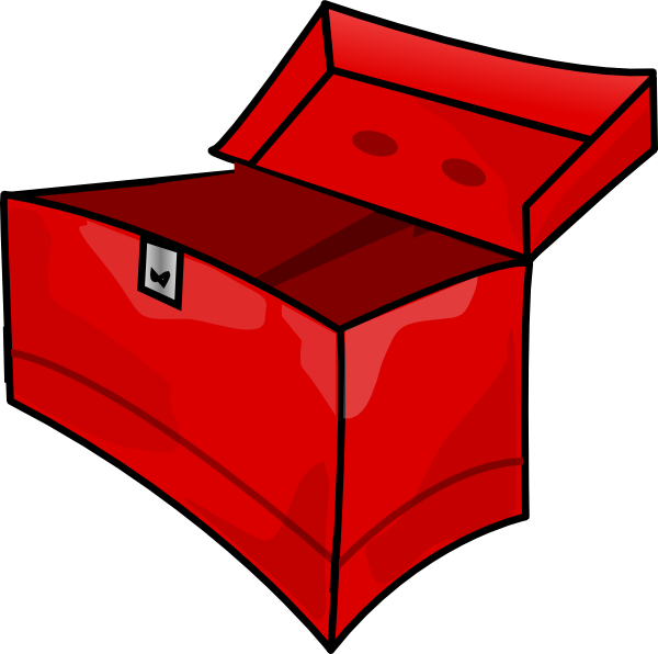 Box clip art at. Tool clipart cartoon