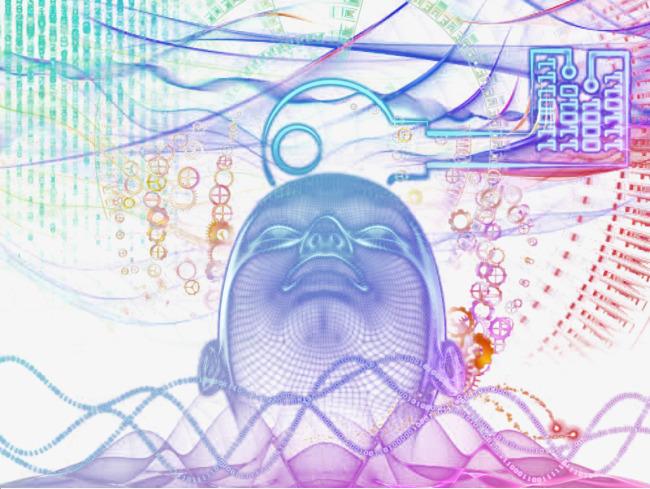 Box clipart brain. Optical digital encryption creative